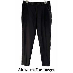 Altuzarra Tuxedo Pants, Satin trim, Size 6